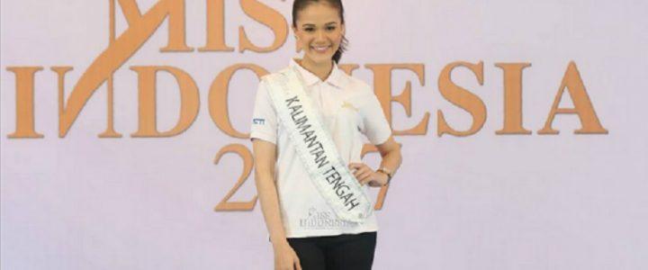 Miss Indonesia 2017 Berlatih Dance Menggunakan Sepatu Hak Tinggi
