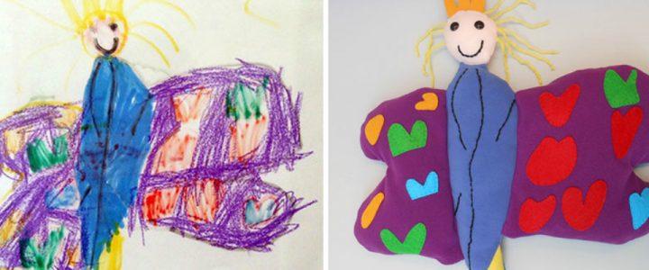 Seniman Yang Pintar Gambar Anak Kecil Dijadikan Boneka