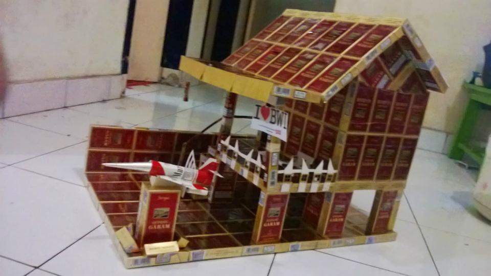 miniatur rumah